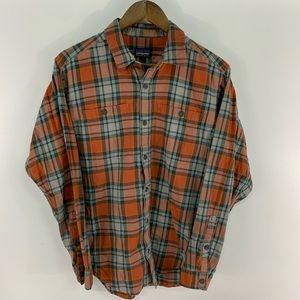 Patagonia Plaid Flannel Button Down Shirt